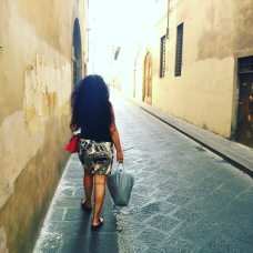 Hana in Firenze