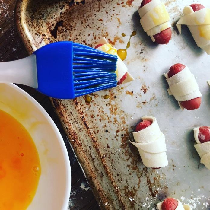 egg brush sausage