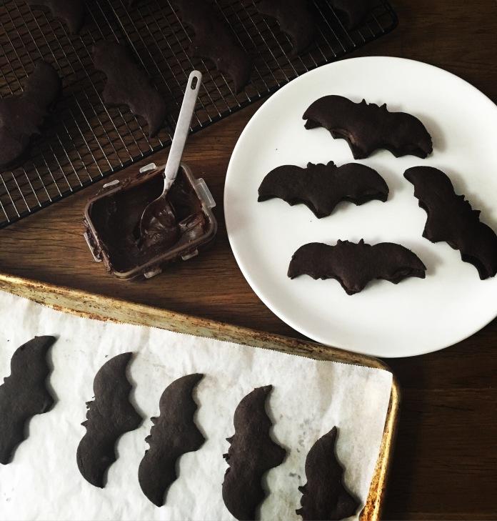 dark-chocolate-bat-cookie-prep