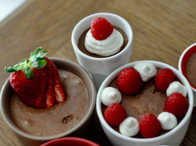chocolate-and-fruit-mousse-cups