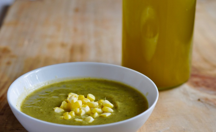 zuccini-soup-and-olive-oil
