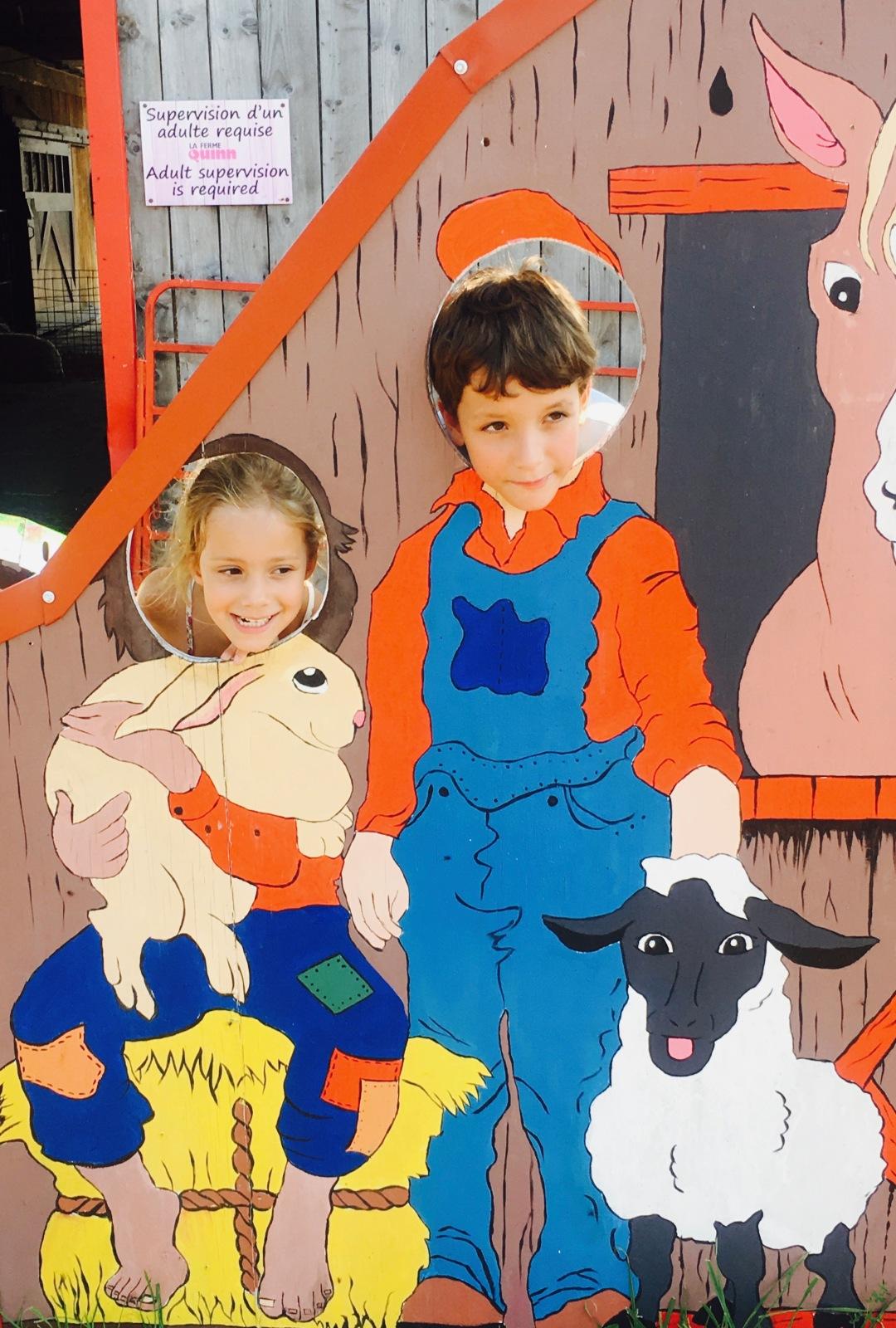kids play yard quinn farm