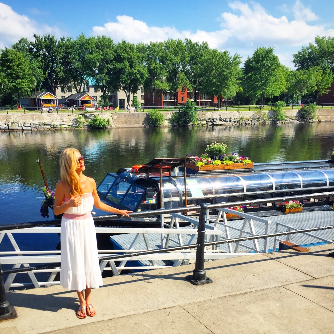 lidija on the lachine canal