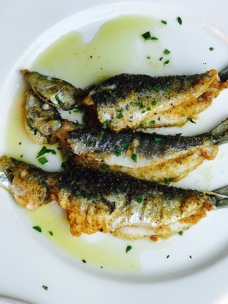 Sardines at Bar Pitti New York