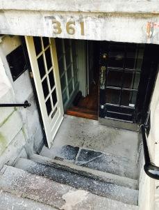 le bremner entrance old montreal
