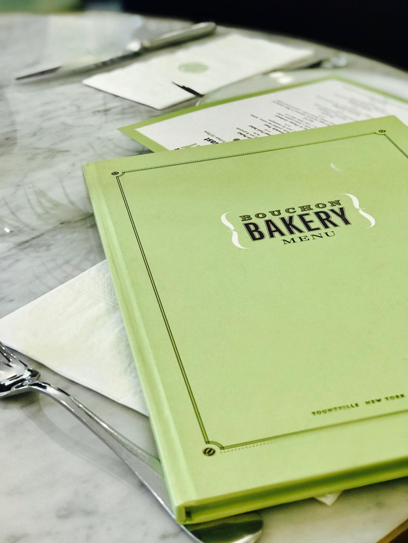 Bouchon Bakery Dubai Menu
