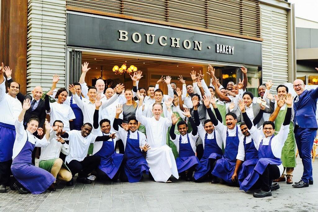 Bouchon Dubai team Thomas Keller