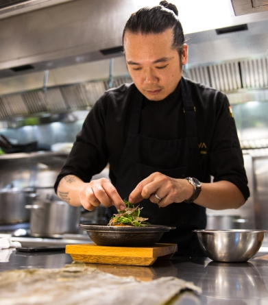 Lidija's Kitchen Spotlight - Coya Restaurant Dubai, UAE. Head Chef Benjamin Wan. Tasting the jaw dropping menu at Coya Restaurant in the Four Seasons Hotel Dubai. Beach Road Dubai.