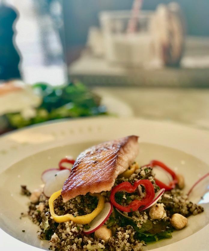 Salmon and quinoa at Bouchon Dubai.jpg
