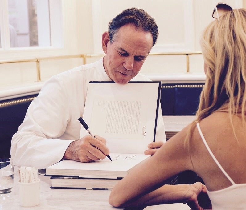 Thomas Keller book signing Bouchon Dubai